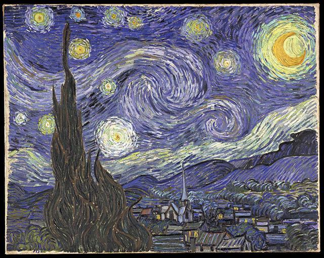 Vincent Van Gogh   La Nuit étoilée