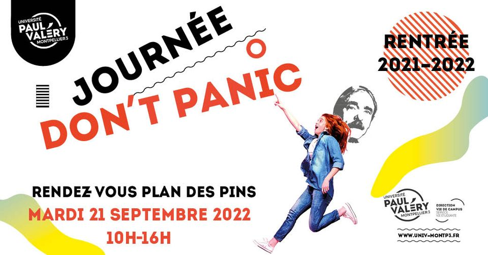 affiche journée don't panic