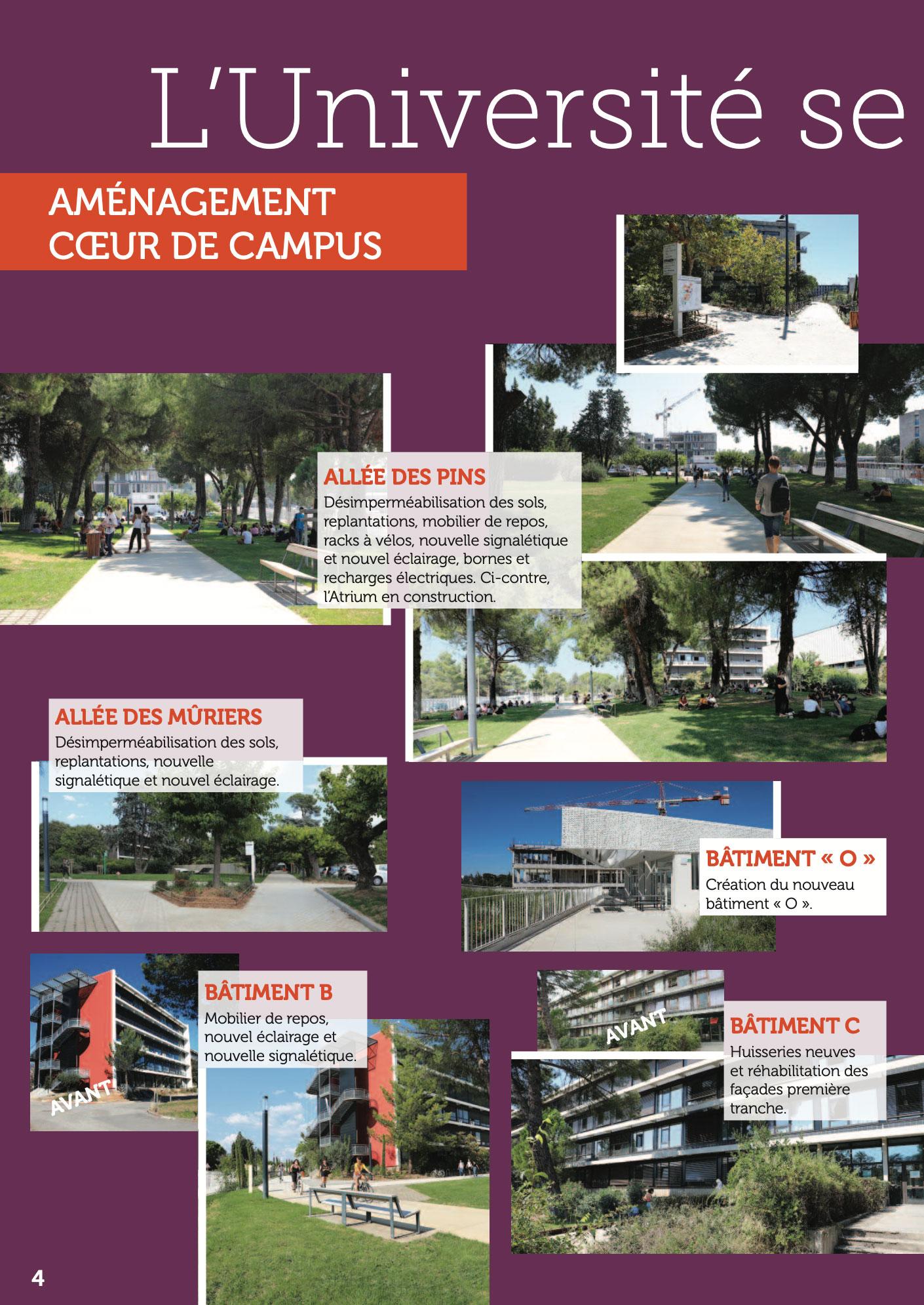 La lettre d'info du Président de l'Université Paul-Valéry Montpellier 3 page 04