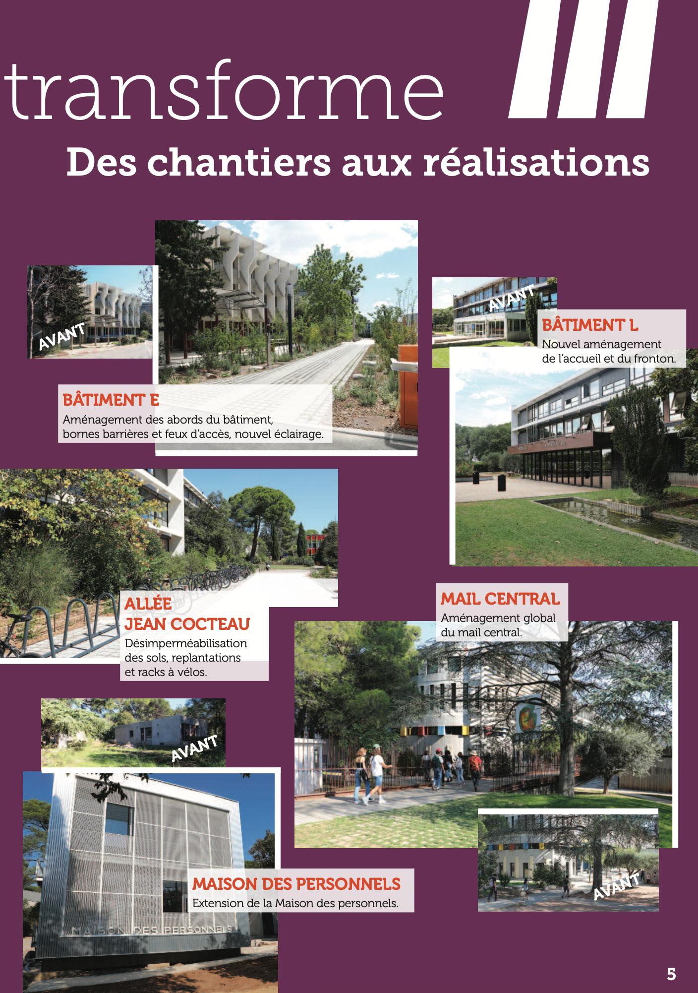 La lettre d'info du Président de l'Université Paul-Valéry Montpellier 3 page 05