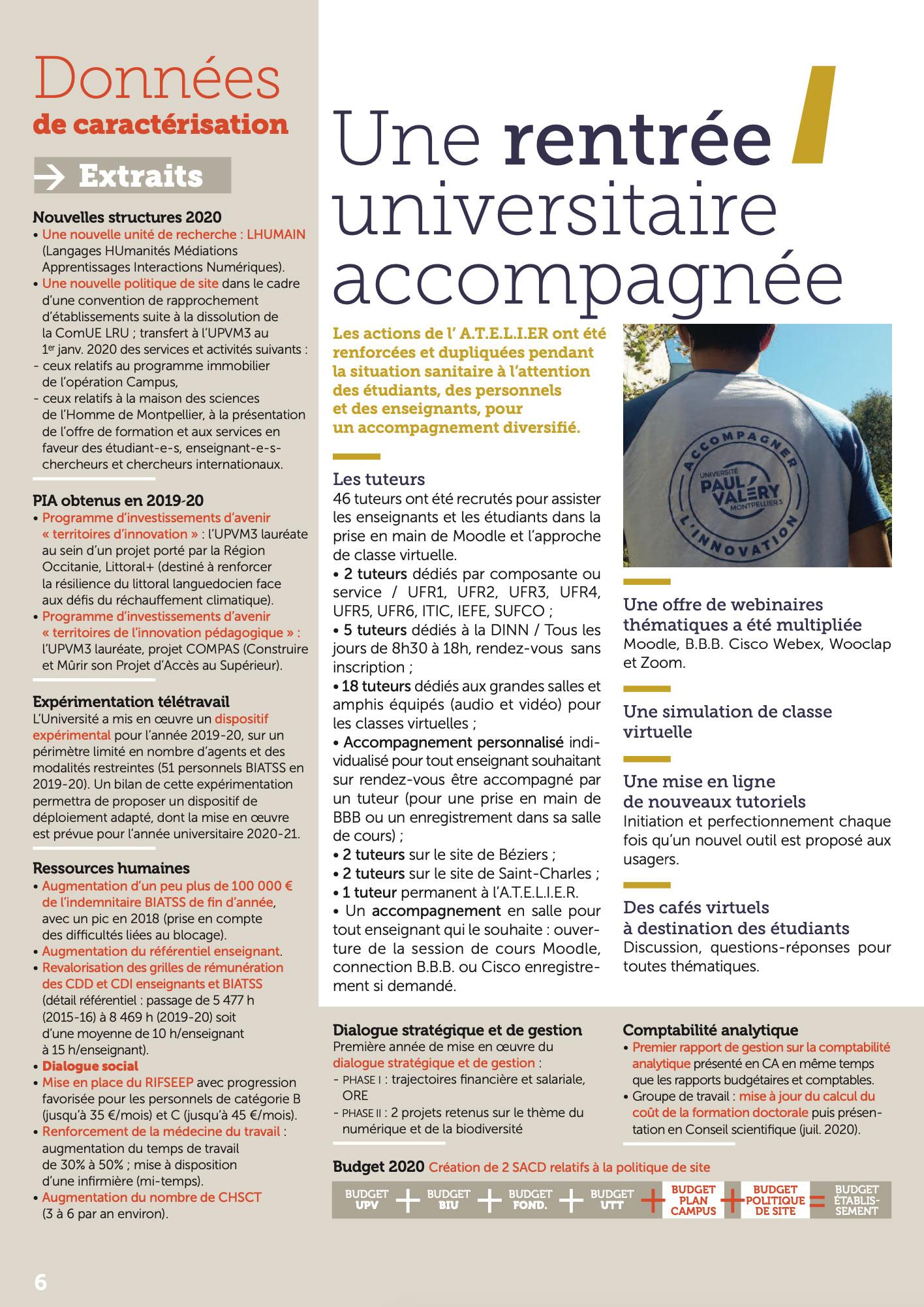 La lettre d'info du Président de l'Université Paul-Valéry Montpellier 3 page 06