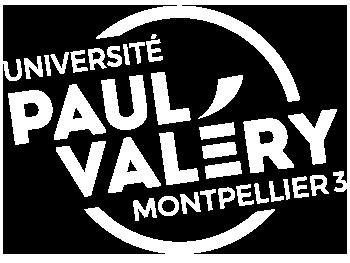 Logo UPVM3 Blanc