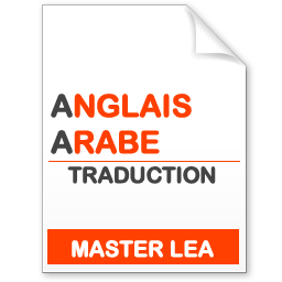 maquette formation master traduction anglais-arabe