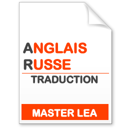 maquette formation master traduction anglais-russe