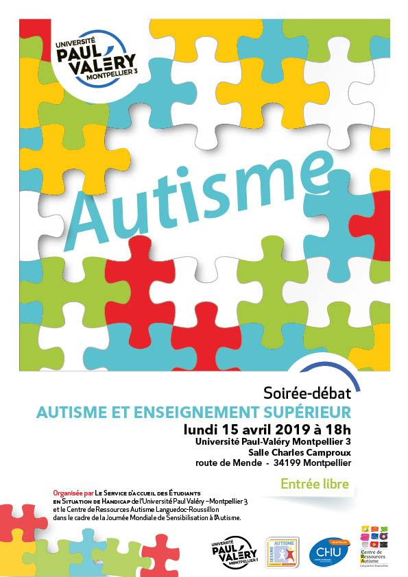 Affiche Colloque Autisme