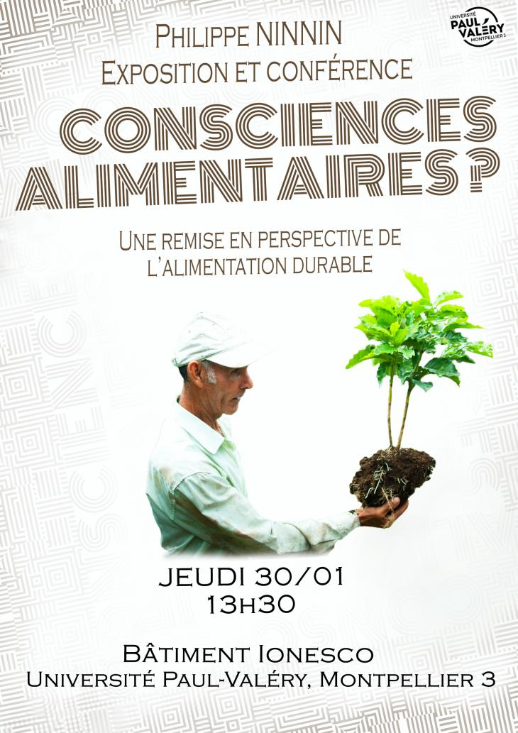 affiche conférence alimentaire
