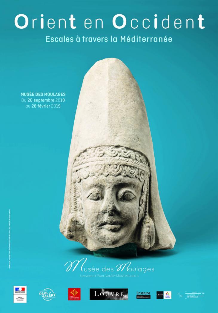 affiche exposition Orient en Occident
