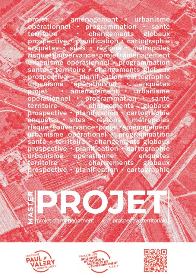 Plaquette Master projet
