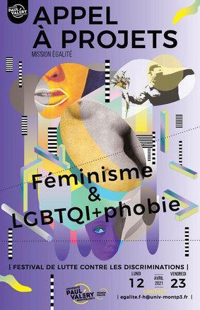 Affiche appel à projets festival 2021 de lutte contre les discriminations