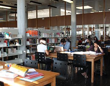 La bibliothèque universitaire