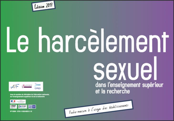 Vademecum Harcèlement sexuel