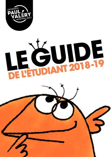 Guide de l'étudiant 2018-2019