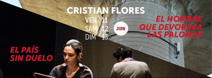 affiche spectacles Cristian Flores
