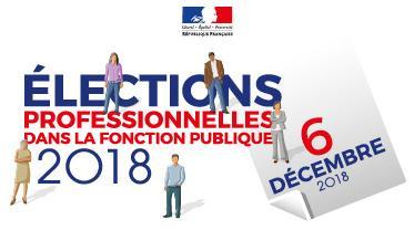 Élections professionnelles 2018