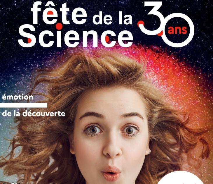 Affiche fête de la science 2021
