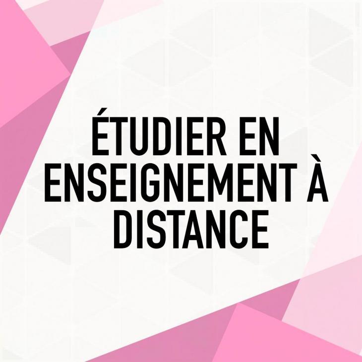 Étudier en Enseignement À Distance