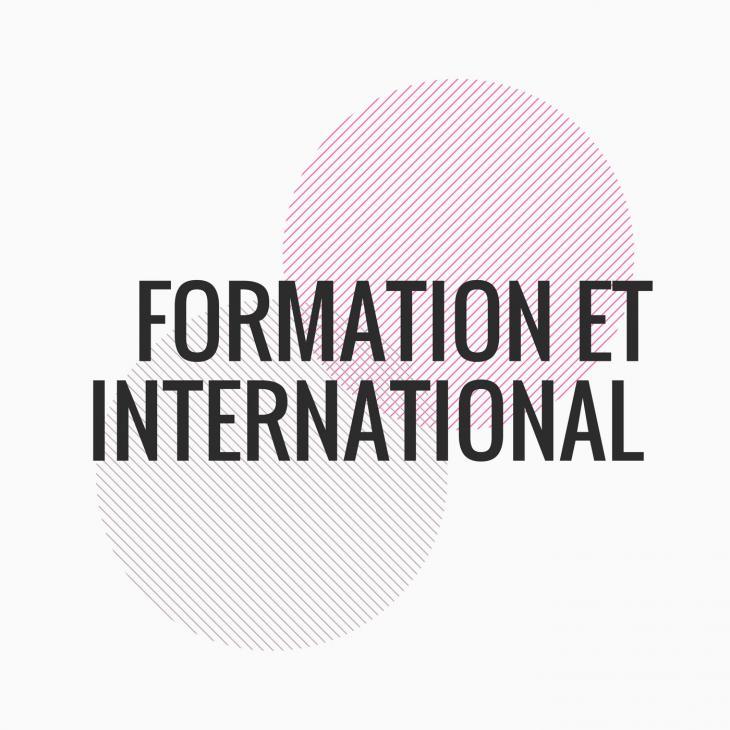 visuel de formation et international