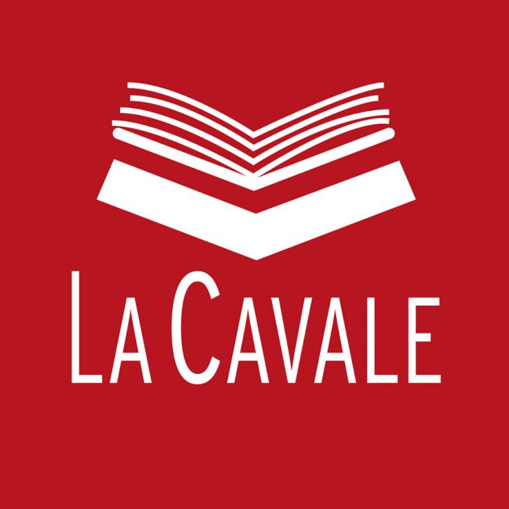Logo librairie la Cavale