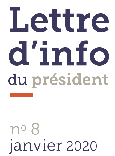 Lettre d'info du Président n°8