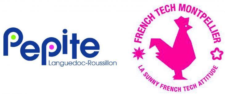 Logos Pepite et French Tech