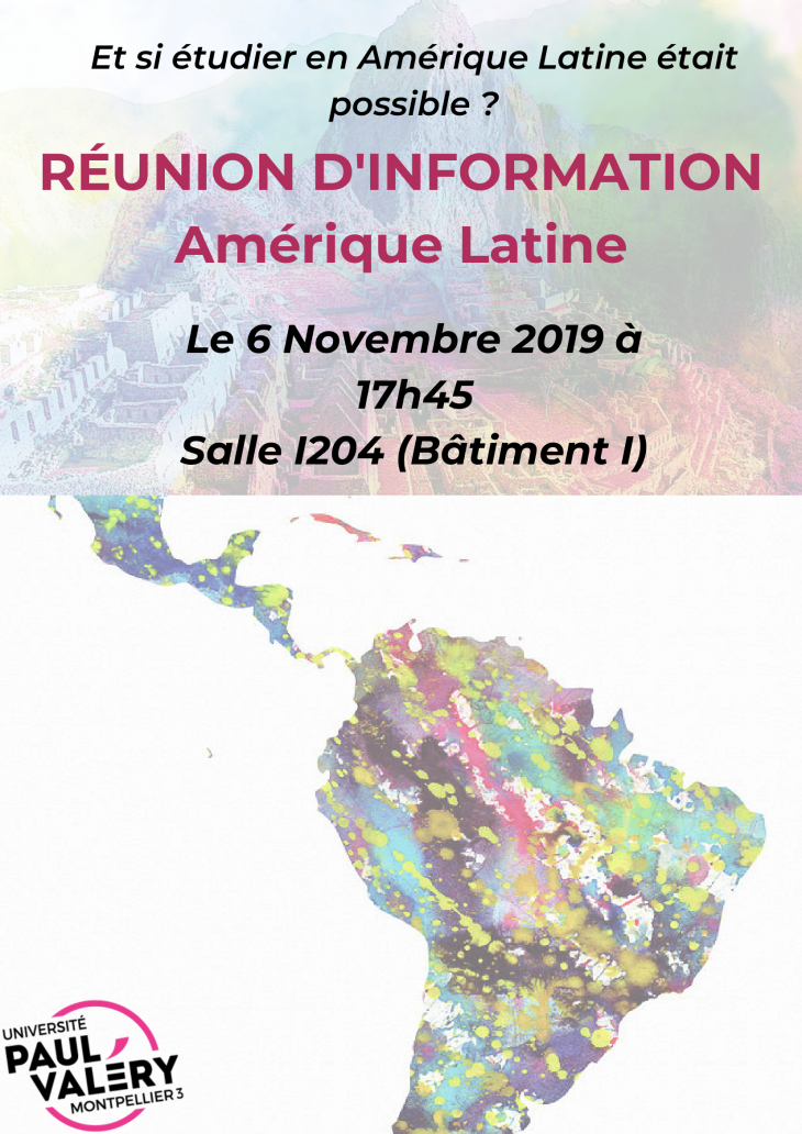 reunion information amrique latine