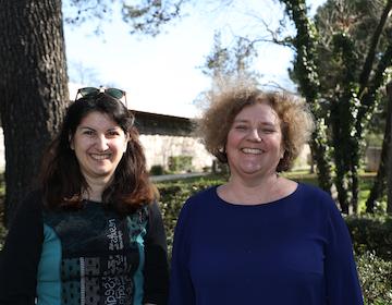 Sarah Hatchuel et Nathalie Vienne-Guerrin