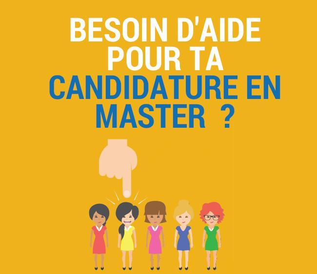 Conférence Candidater en master