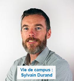 Vie de campus : Sylvain Durand