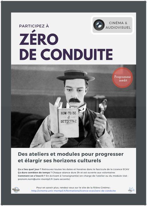 affiche Zéro de conduite
