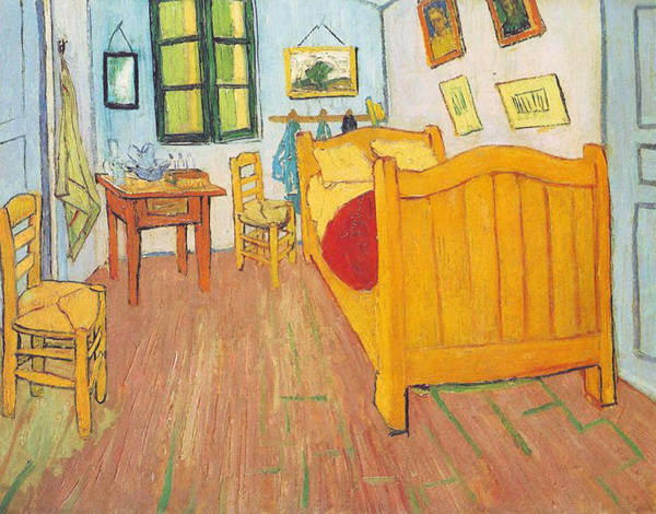 Vincent Van Gogh, La Chambre De Van Gogh En Arles